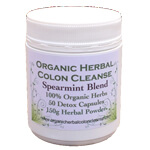 spearmint and charcoal colon cleanse