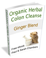 ginger blend colon cleanse free ebook