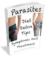free ebook about parasite cleansing symptoms treatment diet and tips